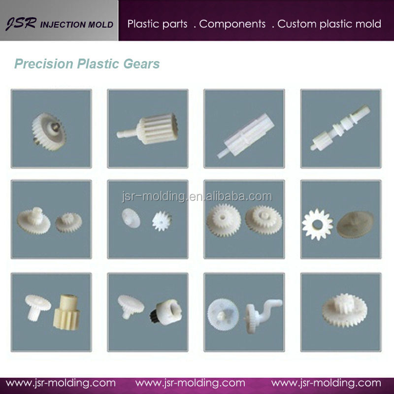 Low price ! Custom plastic internal gears , plastic nylon small pinion gears for plastic gears replacement