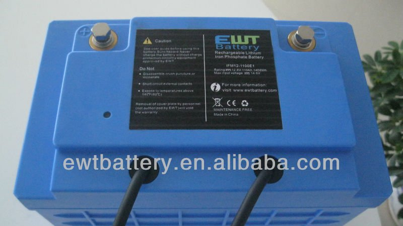 CE Lifepo4 300v 100ah batteries Rechargeable battery for Electric vehicle