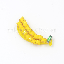wholesaler Yellow Banana Beaded Patch for dress accessories