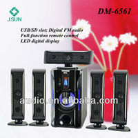 Hot models 5.1 wireless speakers surround home theater DM6561
