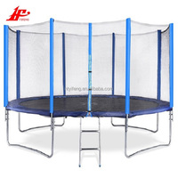 Comfortable best price round indoor trampoline safety net for sale