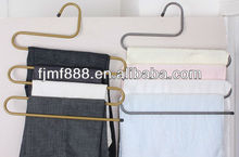 4 Tier Modern Powder Coated Mens Pants Hangers