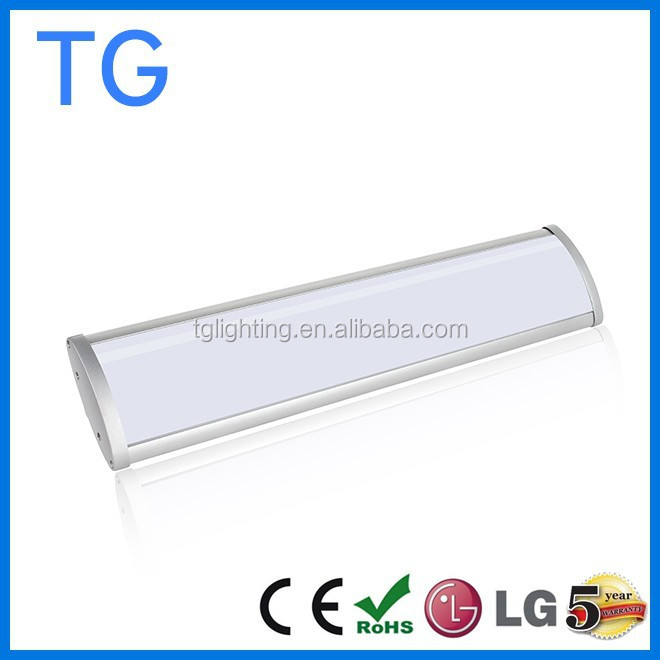 New Arrival 2ft/4ft/ 40W 60w IP65 LED Vapour proof Batten lamp tube/LED low bay light in high quality 5 years warranty