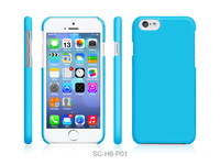 New mobile phone and accessory Colorful plastic case cover for iPhone 6 4.7""