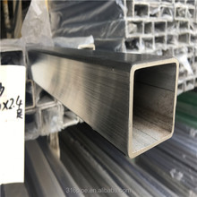 Custom 38.1*38.1mm square stainless steel tube sus316 welded tube price
