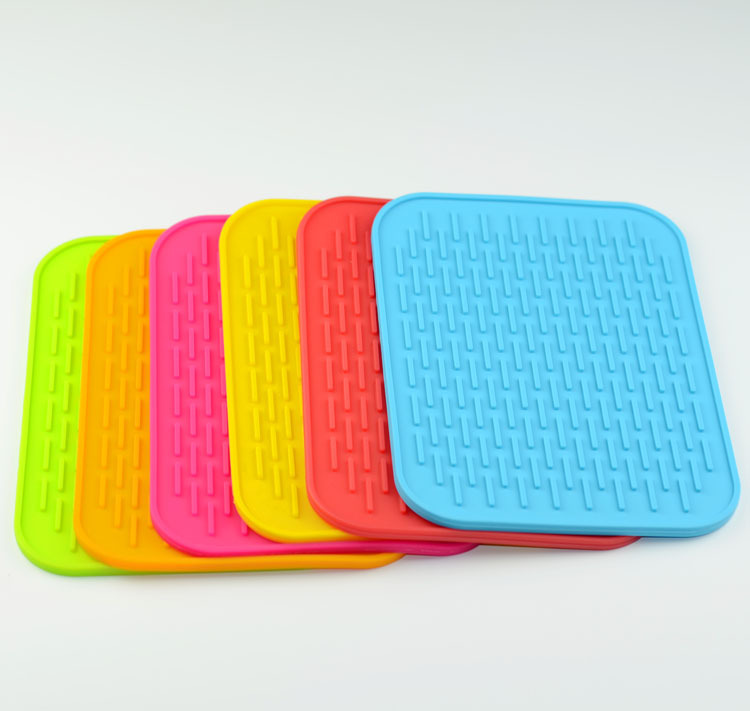 Mats & Pads colorful Eco-friendly custom silicone dab mat baking mat