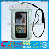 Fashion waterproof mobile phone bag for iphone 5 with string
