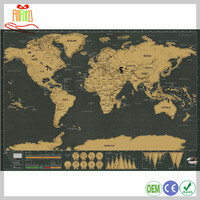 Best Gift Luxury Global Travel Scratch Map Scratch Off World Travel Map