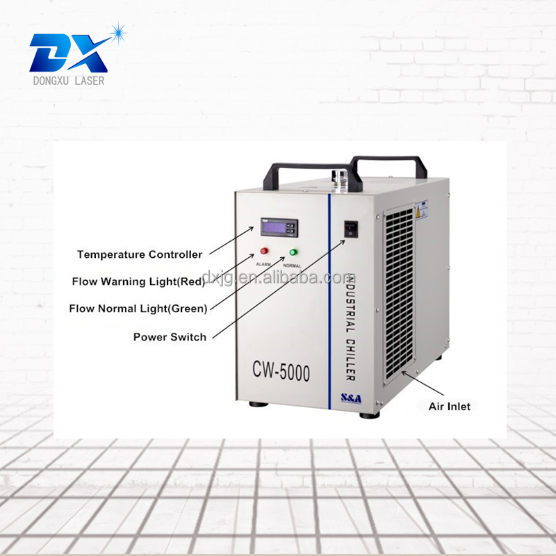 CW5000 chiller for laser cutting machine spare parts