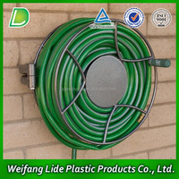 PVC Garden Pipe With Spray Nozzle Gun Outdoor Water Hose 15M