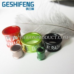 Brand new pigeon ring laser marker racing pigeon ring birds ring for sale with low price