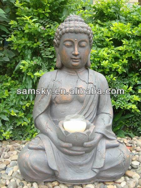 Fibre Clay laughing buddha garden statues buy buddha statue View
