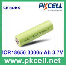High Capacity 3000Mah Li-Ion Icr 18650 3.7V Rechargeable Lithium Ion Battery, High Quality 18650 Li Ion Battery Cell