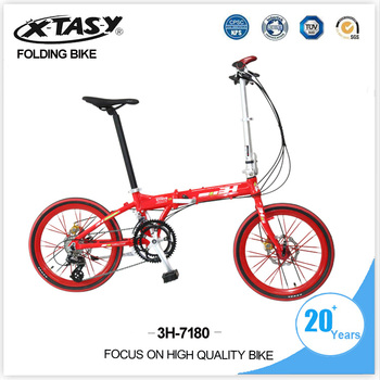 XTASY 20 inch lightweight aluminum alloy folding bike