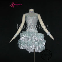 Excellent Tailor-Made Sexy Guangzhou Competitive Latin Dance Dress L-1124