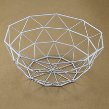 Practical Round Shaped Mesh Wire Storage Basket