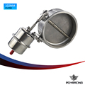 "PQY RACING - NEW vacuum Activated Exhaust Cutout 4"" 102MM Close Style with ROD Pressure: about 1 BAR PQY-ECV06+ROD"
