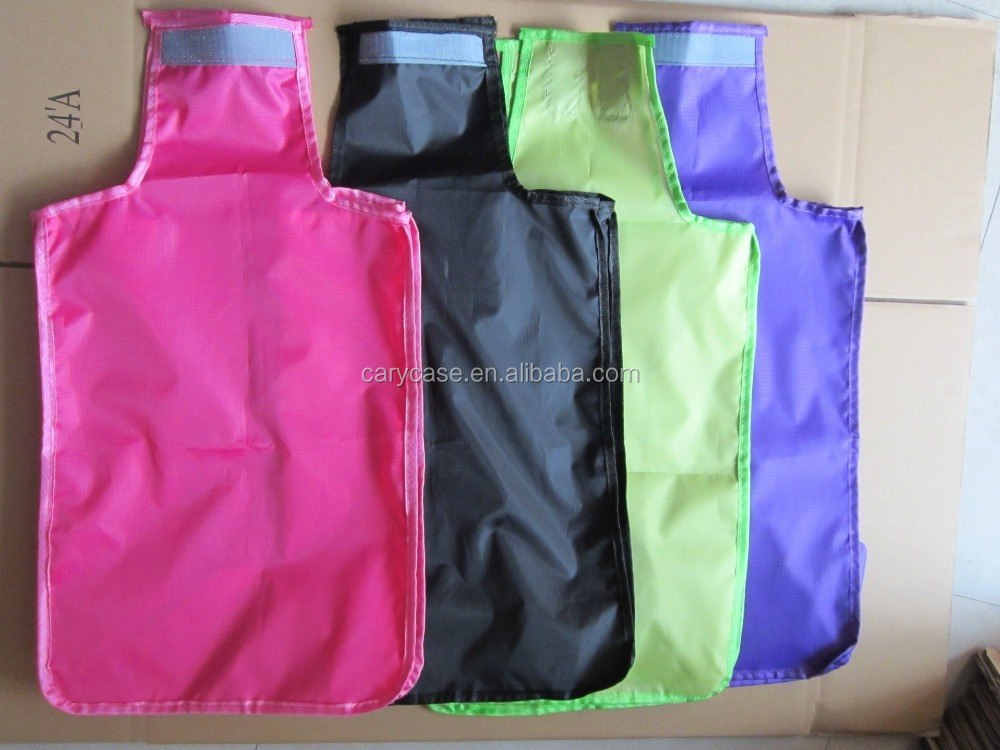 waterproof polyester fabric luggage covers, rain resistant carrier cover bags