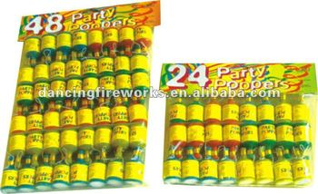 PARTY POPPERS TOYS FIREWORKS