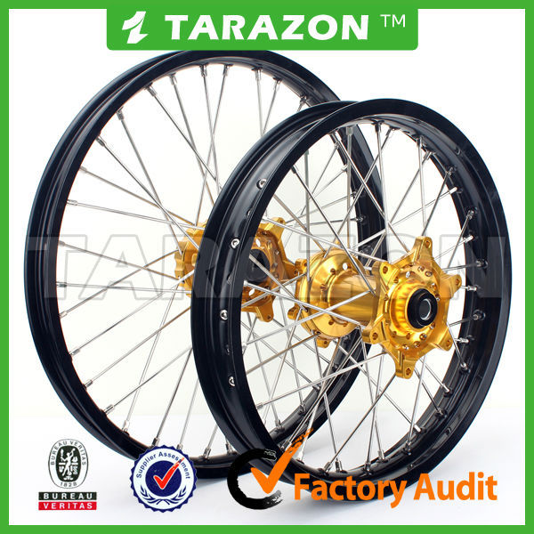 High Strength CNC Aluminum Alloy Spoke Wheels for Ktm Motocross
