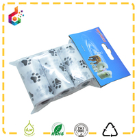 plastic pack 3 dog waste bag