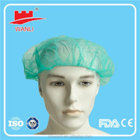 PP material head cover pattern disposable surgical caps colorful.