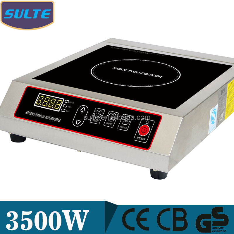 3500 Watts Press Button Microcomputer Electromagnetic Induction Cooker