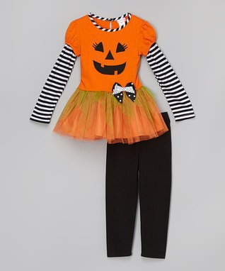 Halloween outfits boutique girls halloween dress pant sets halloween girl sets baby girls halloween costume halloween girl sets