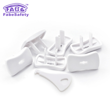 FABE E052 Electrical Outlet Plugs with keys Electrical Outlet Covers Kids Proof Safety Plugs for Outlets