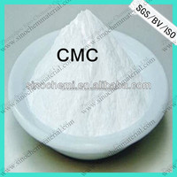 ISO 9001 hot sale carboxymethyl cellulose/CMC food grade from manufacturer directly