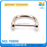 YHD the cheapest wholesale 2013 sale agent golden zinc alloy snap D/O-ring for leather bag/luggage/case/backpack accessory
