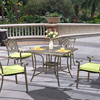 Cast Aluminium Metal Outdoor Patio Dining