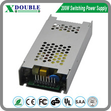 Safety Mark 5v 40 amp ac dc LED display power supply for Led screen