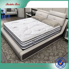 China wholesale leather double bed,custom bed design furniture