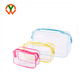 Waterproof Transparent Clear Zipper Travel PVC Cosmetic Toiletry Bag
