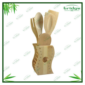 Special bamboo utensils holder