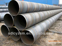 pvc coated steel spiral pipe