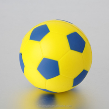 Customized design football printing PU stress ball for kids toy