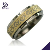 2015 cheap price jewelry 316l stainless steel new model wedding ring