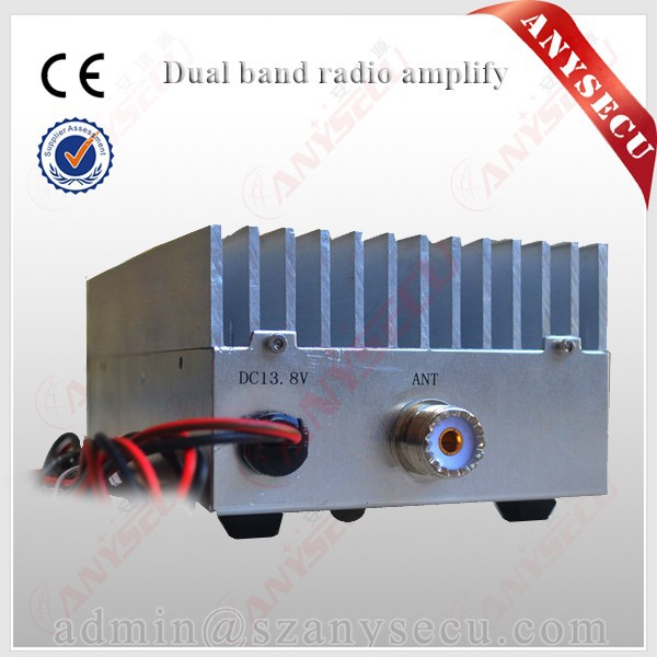 50 w uhf power amplifier linear amplifier only fm choose 10mhz from