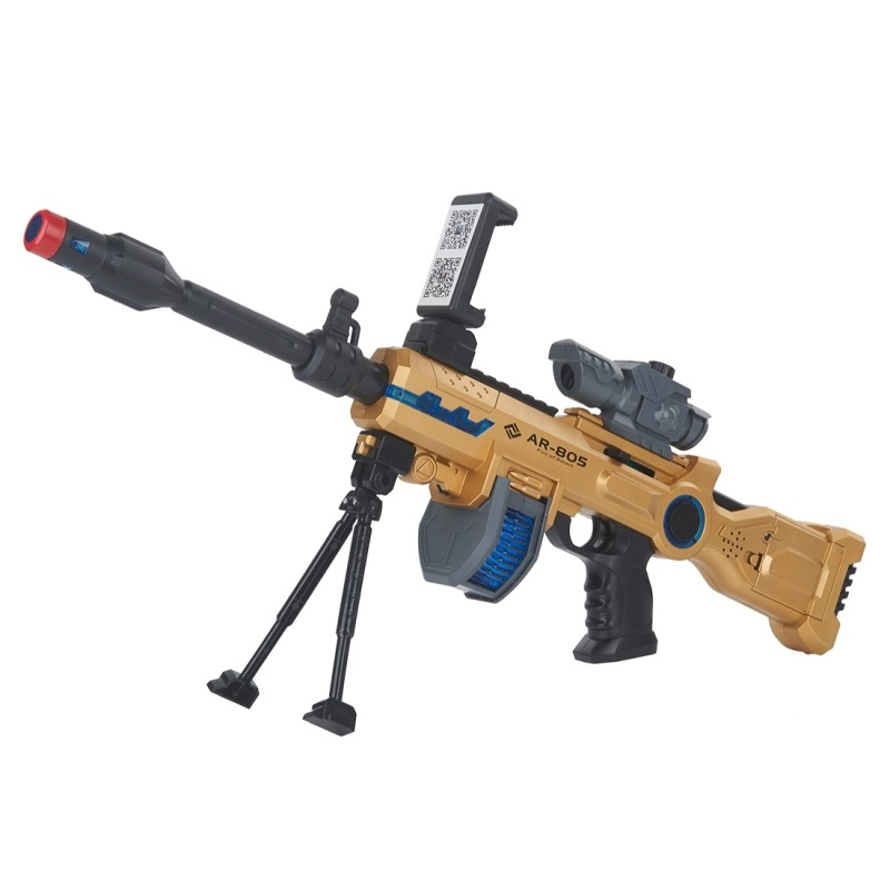 New Arrival Shooting Game Player Mobile phone controlled app smart game toy AR <strong>gun</strong> for sale