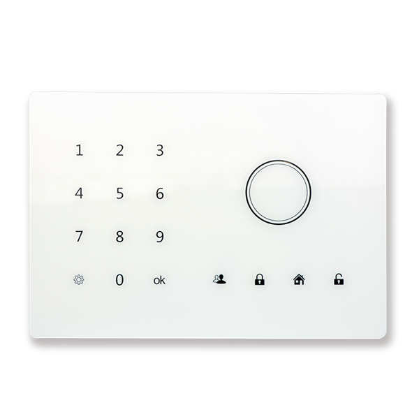 Home Automation 24 wireless 2 wired defense zone Touch keypad voiced Wireless alarm system Home GSM alarm system