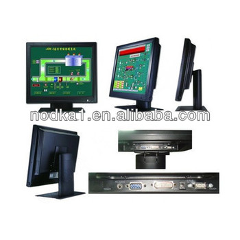 "15""LCD Touch Monitor 4 or 5-wire resistive/Capacitive touch panel"