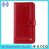 Premium real leather case from guangzhou cell phone accessory for iphone 5