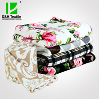 100% Polyester Large Custom Printed Blanket