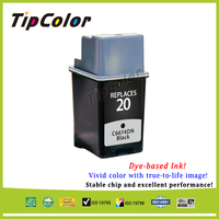Stable Quality Compatible HP20 Ink Cartridge C6614 Professional Color