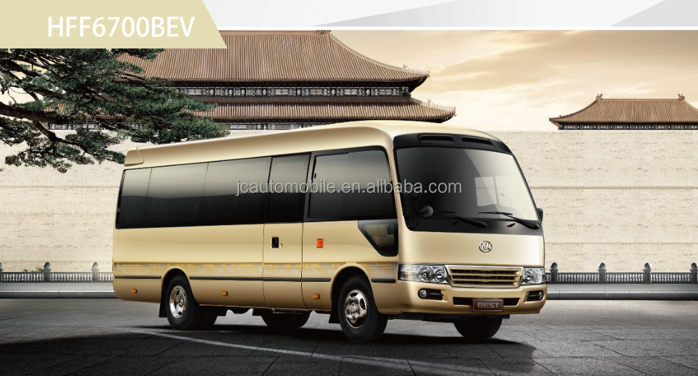Factory direct price Chinese 18-25 seater mini buses micro bus minivan