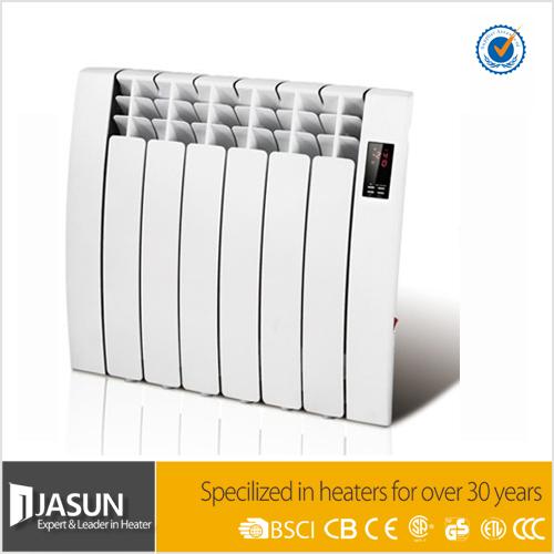 LCD display week control ip24 class II aluminum radiator