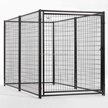 5' x 10' x 6' galvanized welded wire outdoor large dog kennel wholesale