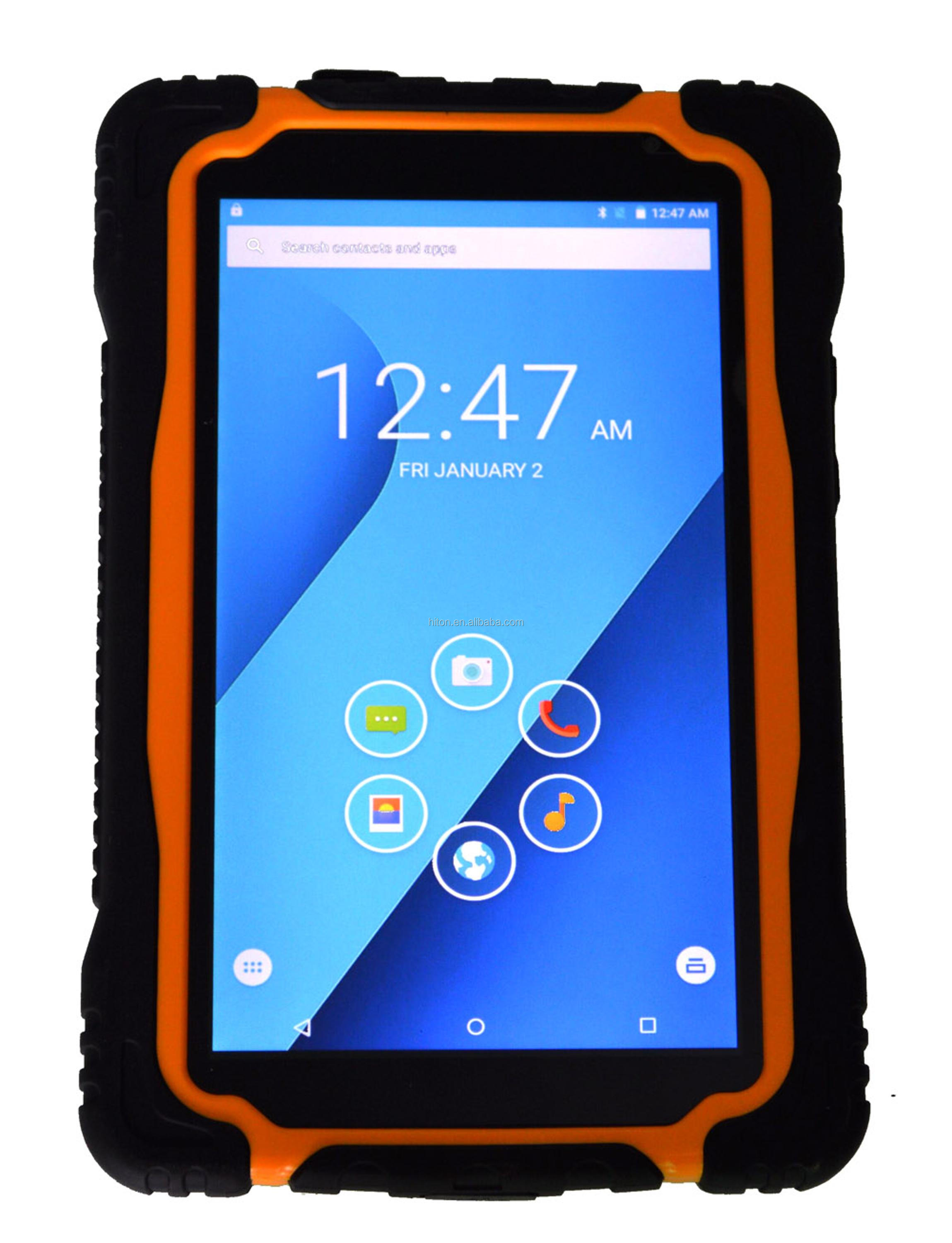 Factory cheapest 7inch Android 4G LTE outdoor waterproof tablet pc NFC UHF RFID rugged tablet computer with GPS GLONASS RFID